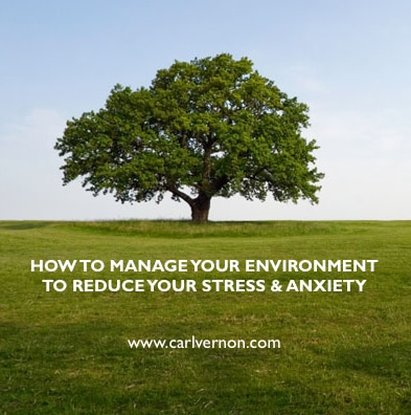How To Manage Your Environment To Reduce Your Stress & Anxiety - Carl Vernon